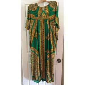 Dresses & Skirts - Women Boho Ethnic MuMu Tunic Dress Sz No Size
